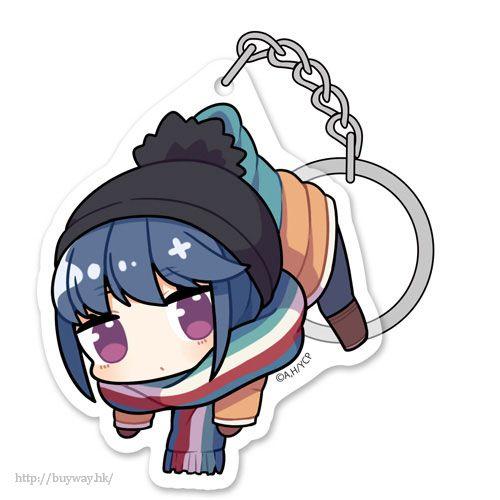 """搖曳露營△ 「志摩凜」吊起匙扣 """"Rin Shima"""" Acrylic Pinched Keychain【Laid-Back Camp】"""
