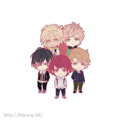 A3! 「春組」Nendoroid Plus 橡膠掛飾 Nendoroid Plus Unit Rubber Strap Spring Team【A3!】