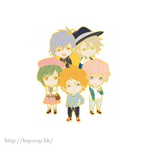 A3! 「夏組」Nendoroid Plus 橡膠掛飾 Nendoroid Plus Unit Rubber Strap Summer Team【A3!】