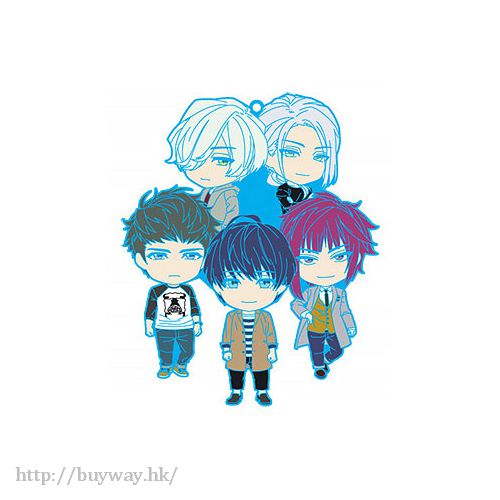 A3! 「冬組」Nendoroid Plus 橡膠掛飾 Nendoroid Plus Unit Rubber Strap Winter Team【A3!】