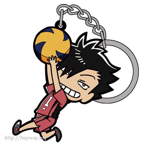 排球少年!! 「黑尾鐵朗 (鉄朗)」吊起 匙扣 Kuroo Tetsuro Tsumamare Key Chain【Haikyu!!】