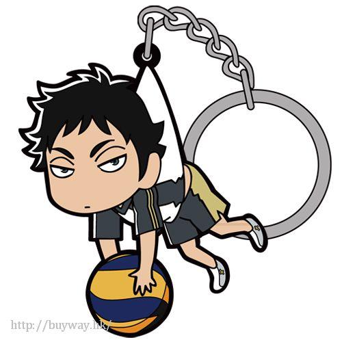 排球少年!! 「赤葦京治」吊起 匙扣 Akaashi Keiji Tsumamare Key Chain【Haikyu!!】