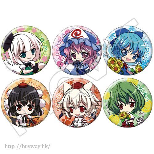 東方Project 收藏徽章 (6 個入) Can Badge (6 Pieces)【Touhou Project】