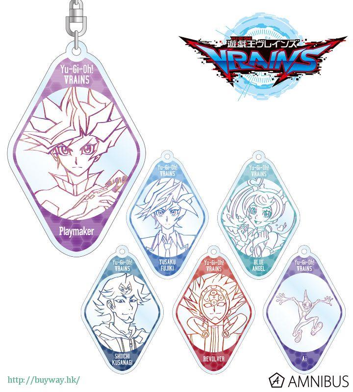 遊戲王 亞克力匙扣 (6 個入) Acrylic Key Chain (6 Pieces)【Yu-Gi-Oh!】