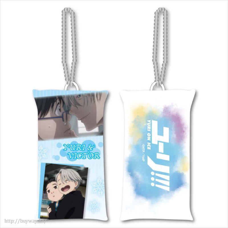 勇利!!! on ICE 「勝生勇利 + 維克托.尼基福羅夫」長 Cushion 掛飾 Stick Cushion Strap Part 2 H【Yuri on Ice】