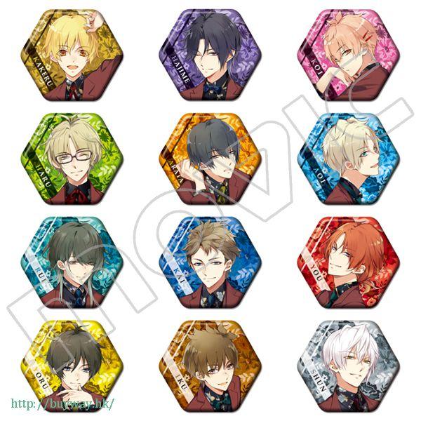 月歌。 六角形徽章 Character Badge Collection【Tsukiuta.】