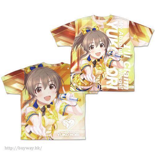 """偶像大師 灰姑娘女孩 (中碼)「堀裕子」全彩 T-Shirt """"Zettai Tokken Shuchoushimasu!"""" Yuko Hori Double-sided Full Graphic T-Shirt / M【The Idolm@ster Cinderella Girls】"""