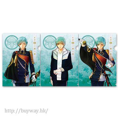刀劍亂舞-ONLINE- (1 套 3 款)「一期一振」文件套 Clear File Set Ichigo Hitofuri【Touken Ranbu -ONLINE-】