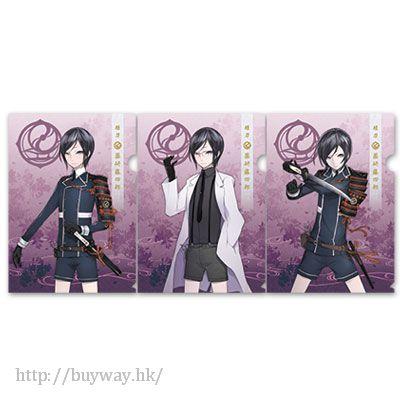 刀劍亂舞-ONLINE- (1 套 3 款)「藥研藤四郎」文件套 Clear File Set Yagen Toushirou【Touken Ranbu -ONLINE-】