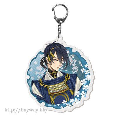 刀劍亂舞-ONLINE- 「三日月宗近」戰鬥 Ver. 匙扣 KeyChain Battle 06 Mikazuki Munechika【Touken Ranbu -ONLINE-】