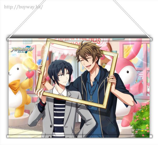 IDOLiSH7 「和泉一織 + 十龍之介」Shuffle Talk Ver. B3 掛布 Shuffle Talk B3 Tapestry Iori & Ryunosuke【IDOLiSH7】