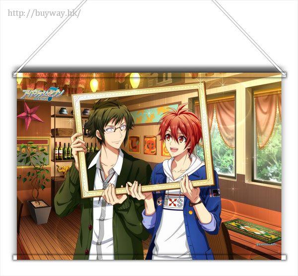 IDOLiSH7 「二階堂大和 + 七瀨陸」Shuffle Talk Ver. B3 掛布 Shuffle Talk B3 Tapestry Yamato & Riku【IDOLiSH7】