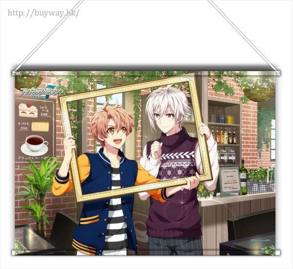 IDOLiSH7 「和泉三月 + 九條天」Shuffle Talk Ver. B3 掛布 Shuffle Talk B3 Tapestry Mitsuki & Tenn【IDOLiSH7】
