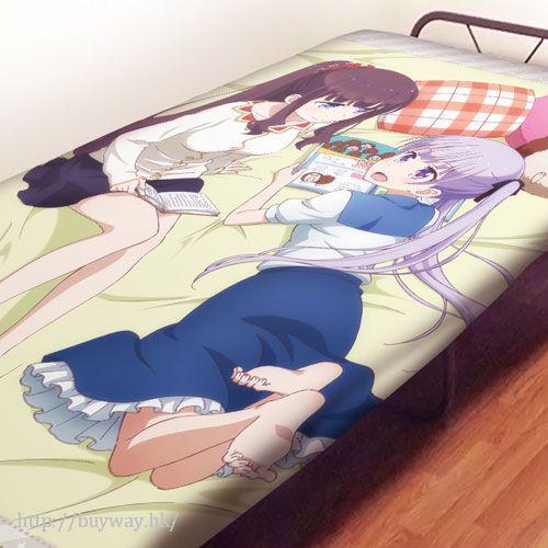 New Game! 「涼風青葉 + 瀧本日富美」床單 Sheets Aoba & Hifumi【New Game!】