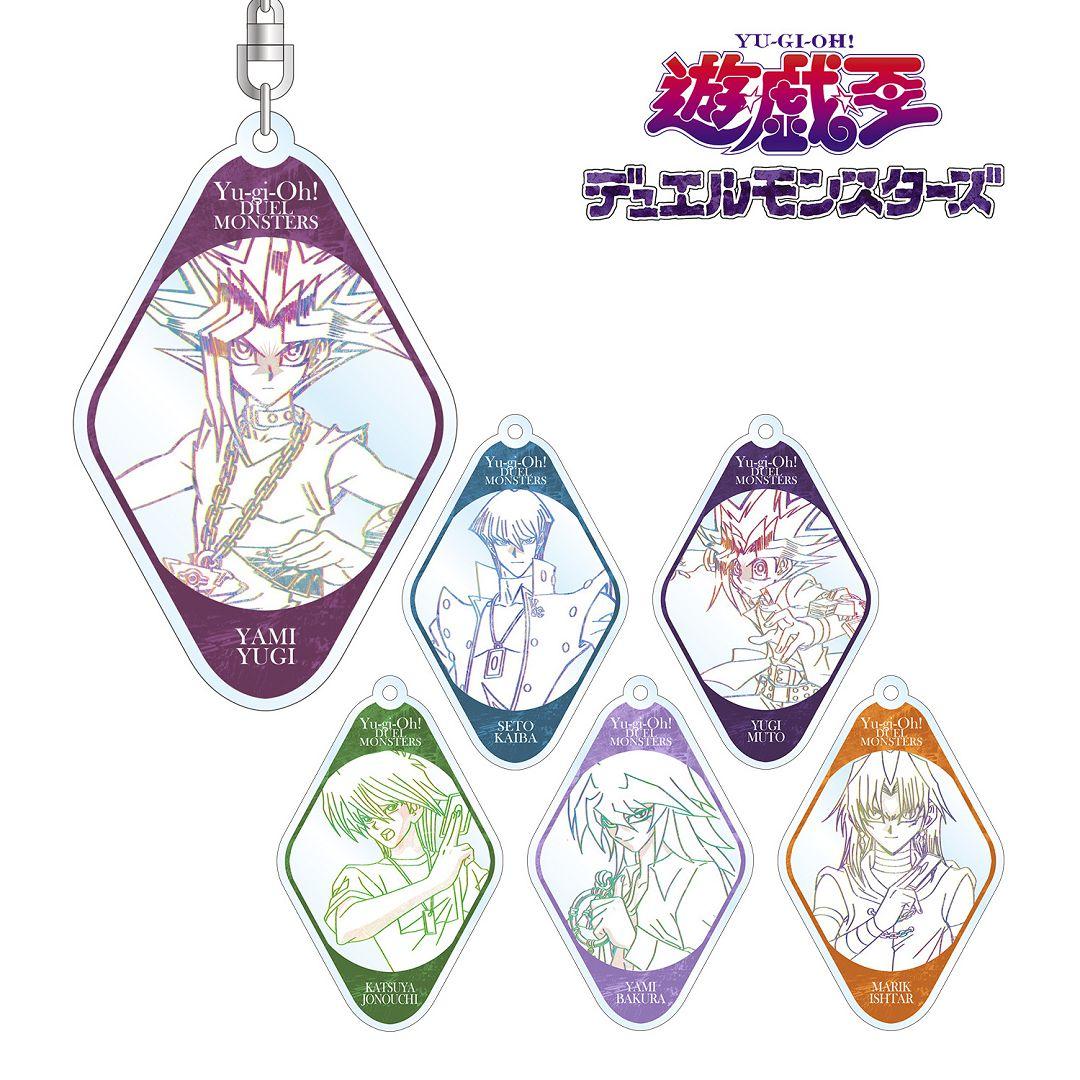 遊戲王 遊戲王怪獸之決鬥 亞克力匙扣 (6 個入) Acrylic Key Chain (6 Pieces)【Yu-Gi-Oh!】