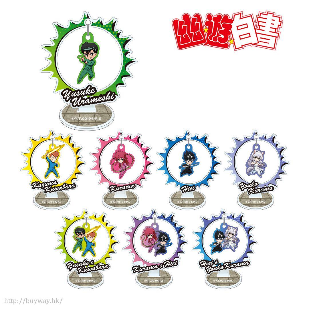 幽遊白書 搖呀搖呀 人物擺動企牌 (8 個入) Yurayura Acrylic Stand (8 Pieces)【YuYu Hakusho】