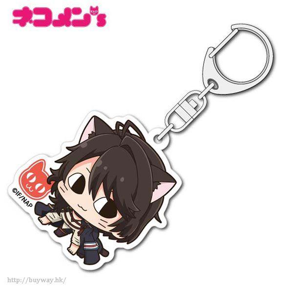 冷然之天秤 「尾崎隼人」亞克力匙扣 Nekomens Acrylic Key Chain Ozaki Hayato【Nil Admirari no Tenbin】