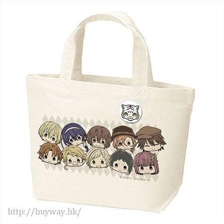 文豪 Stray Dogs 環保袋 + 珍藏徽章 Can Badge Tote Bag【Bungo Stray Dogs】