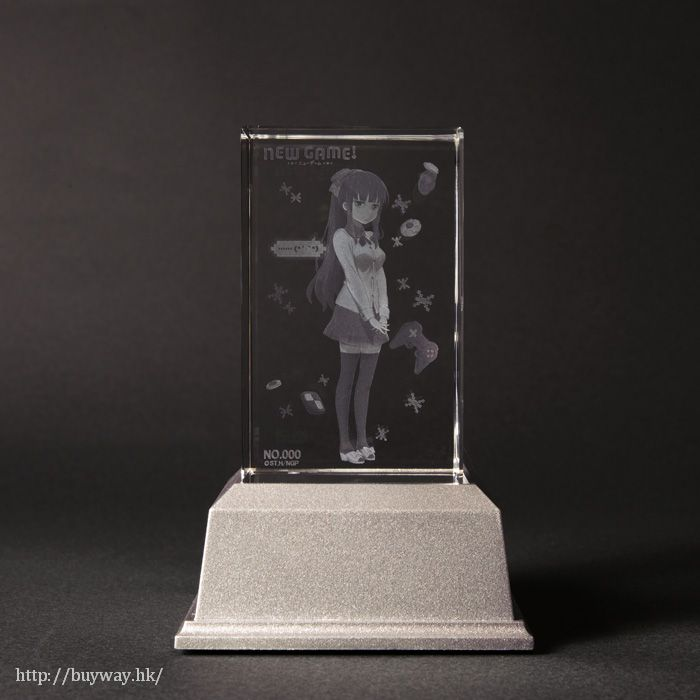 New Game! 「瀧本日富美」水晶擺設 Takimoto Hifumi Premium Crystal【New Game!】
