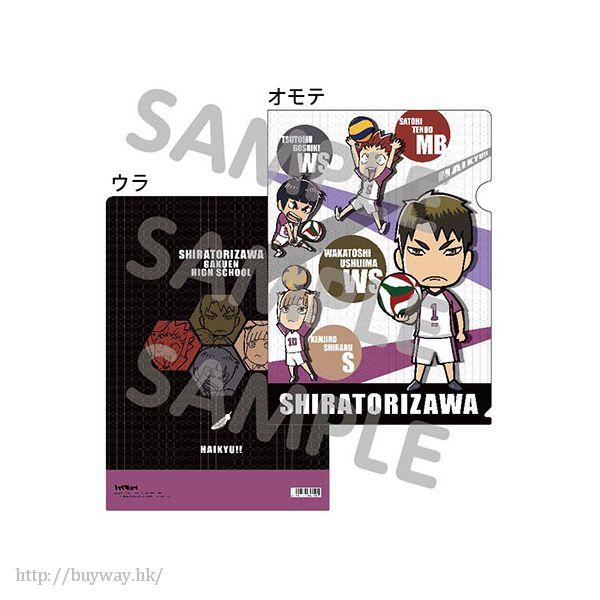 排球少年!! 「白鳥澤學園高校」SD 文件套 A 款 Clear File A (SD)【Haikyu!!】