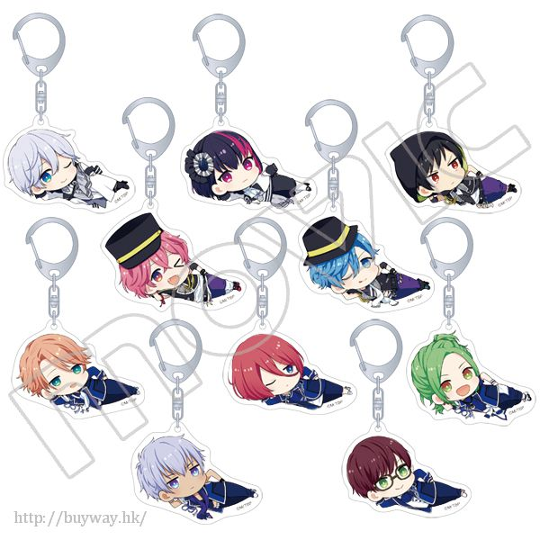 B-PROJECT 遊閒躺著 亞克力 匙扣 (10 個入) Acrylic Key Chain (10 Pieces)【B-PROJECT】