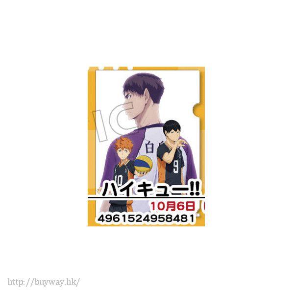 排球少年!! 「牛島 + 日向 + 影山」文件套 Clear File【Haikyu!!】