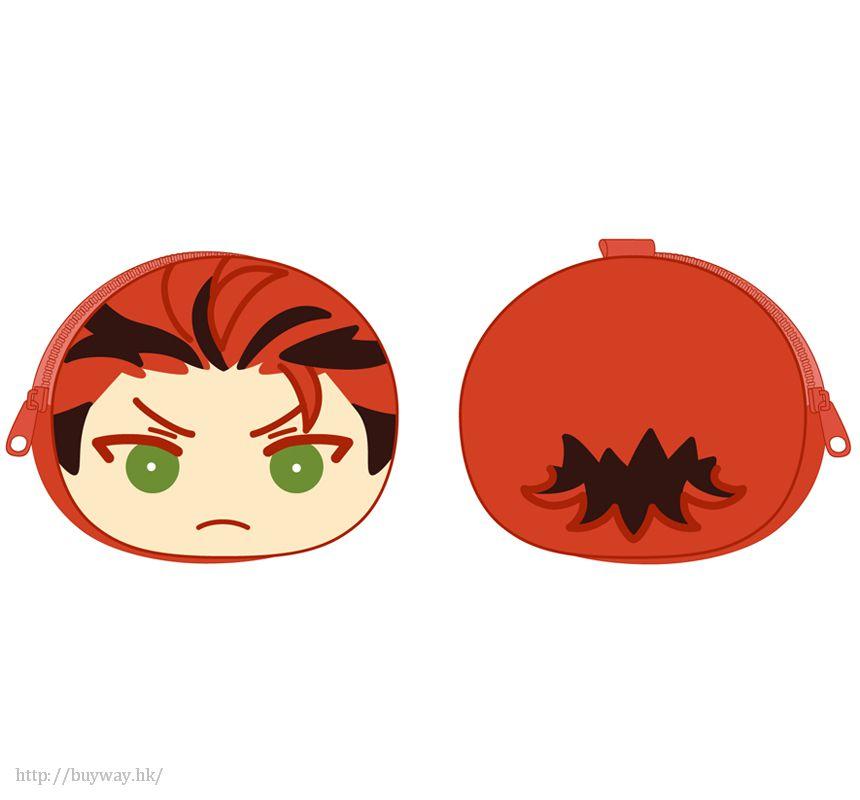 合奏明星 「鬼龍紅郎」散銀包 Part.4 Omanjyu PukaPuka Pouch 4 Kiryu Kuro【Ensemble Stars!】