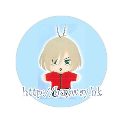 勇利!!! on ICE 「尤里.普利謝茨基」KCM 公仔掛飾 KCM Plush with Ball Chain Yuri Plisetsky【Yuri on Ice】