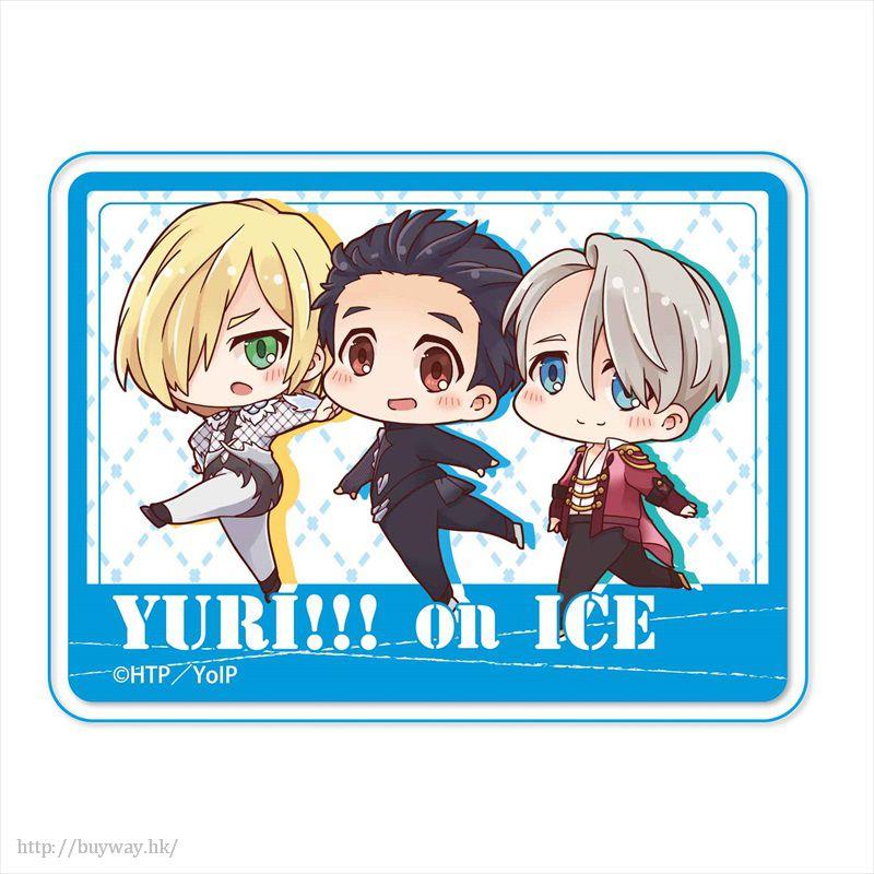 勇利!!! on ICE 「勇利 + 維克托 + 尤里」溜冰 亞克力 徽章 TEKUTOKO Acrylic Badge Group【Yuri on Ice】