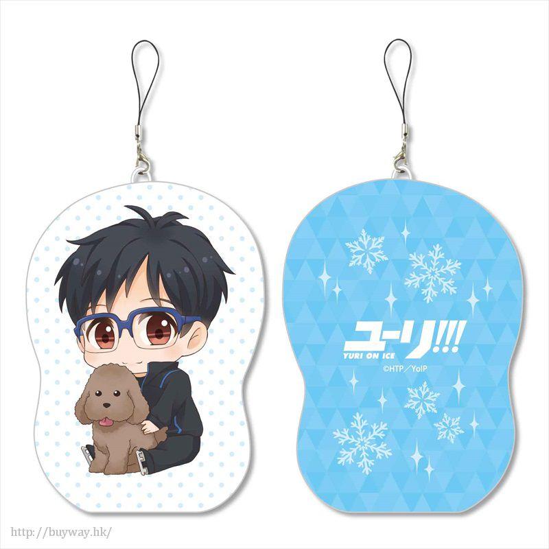 勇利!!! on ICE 「勝生勇利」抱著貴賓狗 Cushion 掛飾 GyuGyutto Marshmallow Cushion Mascot Katsuki Yuri【Yuri on Ice】