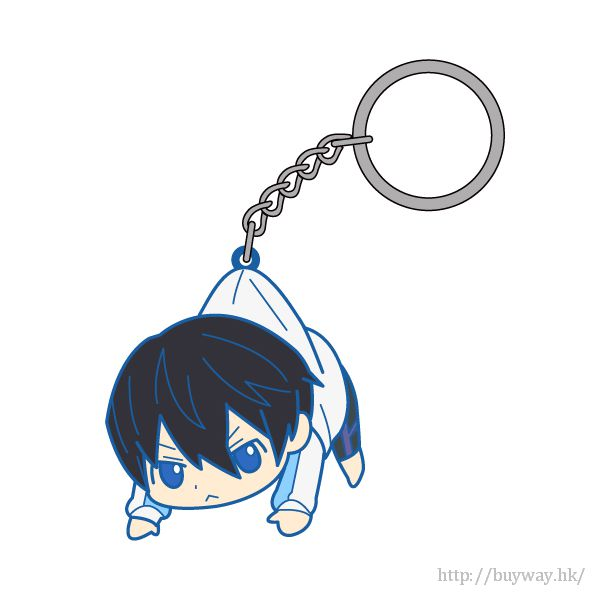 Free! 熱血自由式 「七瀬遙」吊起匙扣 Pinched Keychain Nanase Haruka【Free!】