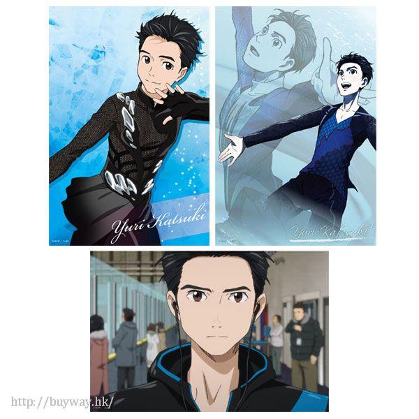 勇利!!! on ICE 「勝生勇利」珍藏相片 (1 套 3 款) Bromide Set Yuri Katsuki【Yuri on Ice】