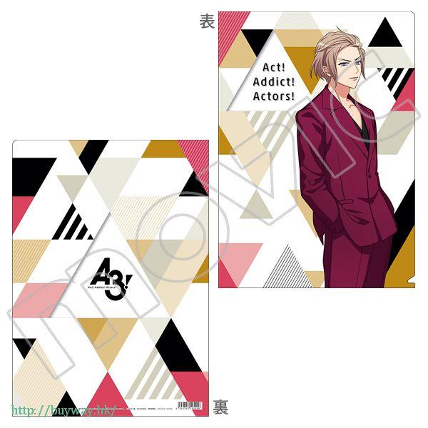 A3! 「摂津萬里」文件套 第三回公演 3rd Concert Clear File Settsu Banri【A3!】
