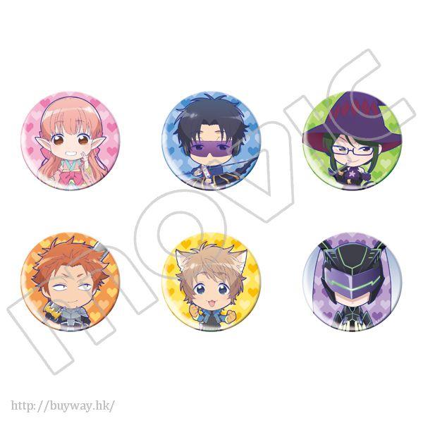 阿宅的戀愛太難 收藏徽章 (6 個入) Chara Badge Collection (6 Pieces)【Wotakoi: Love is Hard for Otaku】