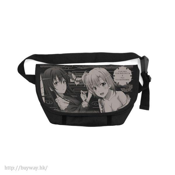 果然我的青春戀愛喜劇搞錯了。 「雪乃 + 由比」和服 郵差袋 Messenger Bag Yukino + Yui Japanese Style【My youth romantic comedy is wrong as I expected.】