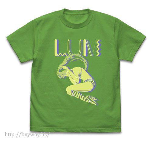 山T女福星 (中碼)「阿琳」Boy Meets Girl 亮綠色 T-Shirt Boy Meets Girl T-Shirt / BRIGHT GREEN - M【Urusei Yatsura】
