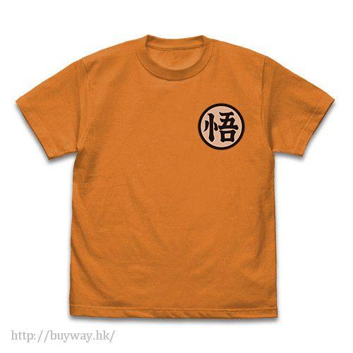 "龍珠 (加大)「孫悟空」""悟"" 橙色 T-Shirt Goku Mark T-Shirt / ORANGE - XL【Dragon Ball】"