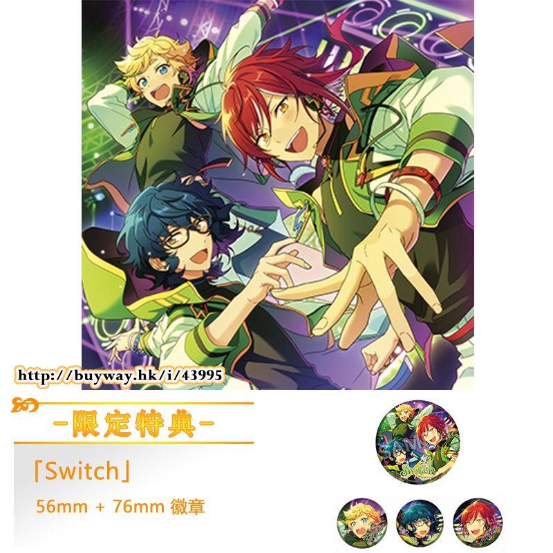 合奏明星 : 日版 「Switch」First Press Limited Edition CD 初回限定盤 (限定特典︰76mm + 56mm 徽章各 1 枚)