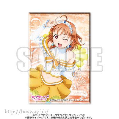 LoveLive! Sunshine!! 「高海千歌」方形徽章 Ver.5 (Aqours02) Square Badge Ver.5 (Aqours02) Chika【Love Live! Sunshine!!】