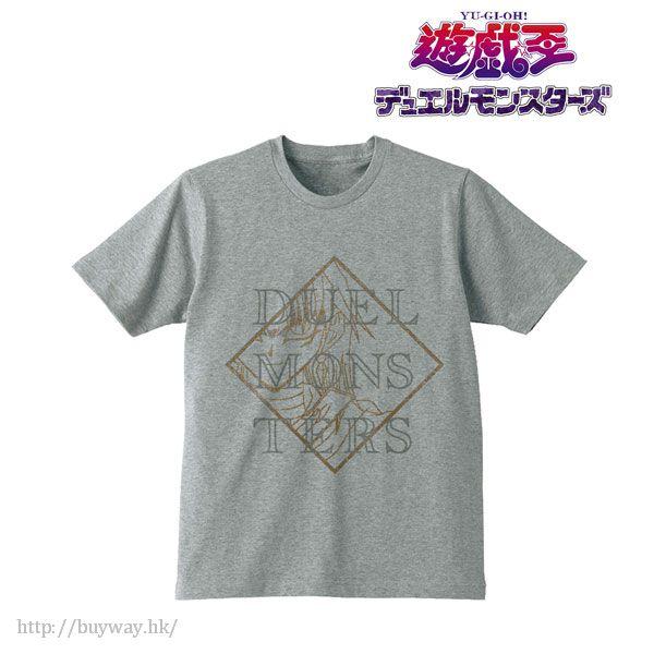 遊戲王 (中碼)「馬利克·伊修達爾」男裝 灰色 T-Shirt T-Shirt / Gray (Marik Ishtar) / Men's (Size M)【Yu-Gi-Oh!】