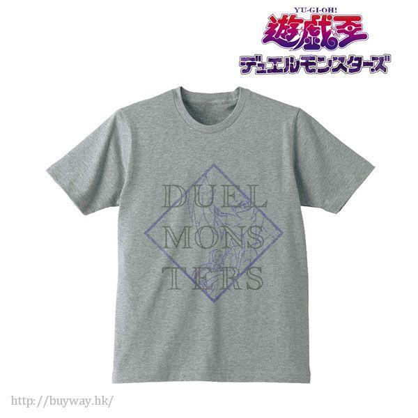 遊戲王 (加大)「獏良了」女裝 灰色 T-Shirt T-Shirt / Gray (Yami Bakura) / Ladies (Size XL)【Yu-Gi-Oh!】