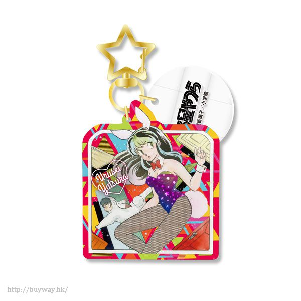 山T女福星 「阿琳」兔女郎鏡子匙扣 Mirror Ball Key Chain E【Urusei Yatsura】