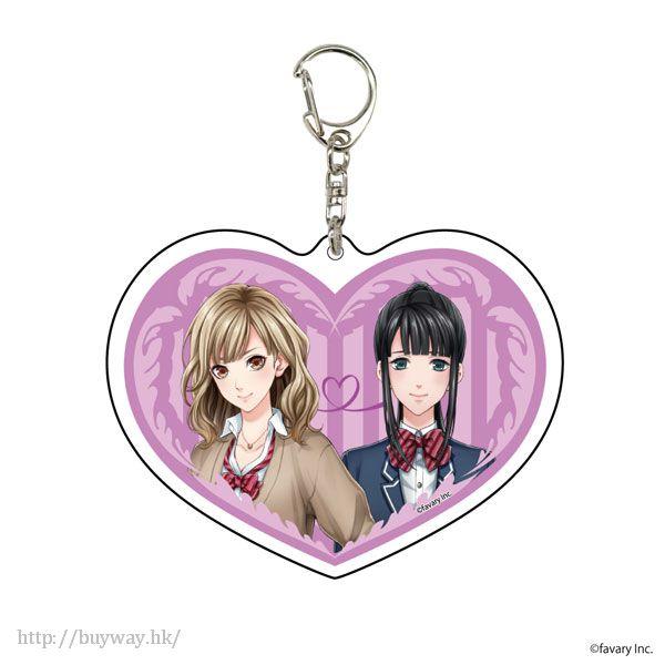 初戀Signal 「しのあすか」亞克力匙扣 Deka Acrylic Key Chain 04 Shino & Asuka【Hatsukoi Signal】