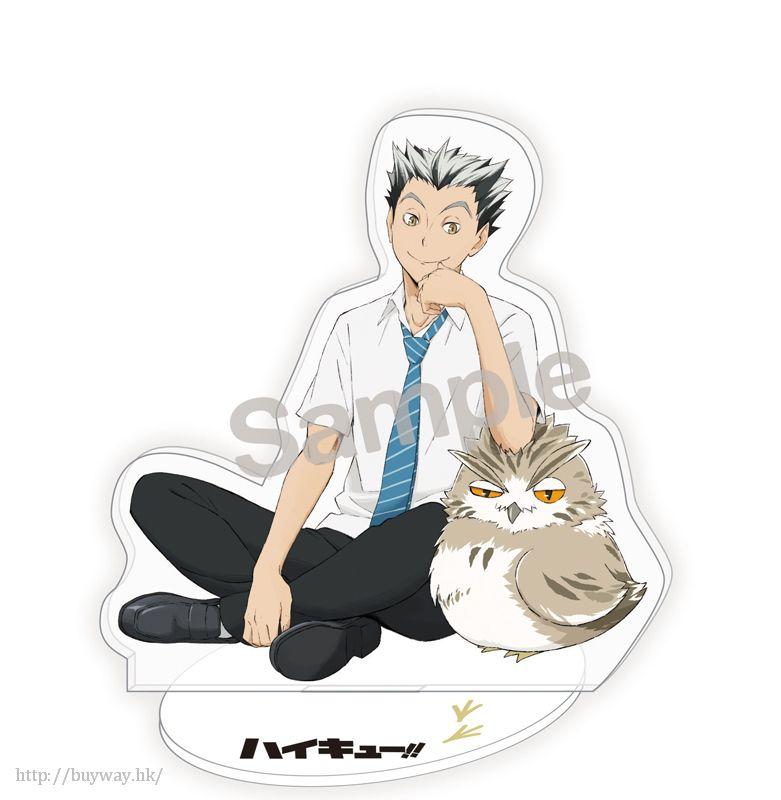 排球少年!! 「木兔光太郎」恤衫 Ver. 全身亞克力企牌 Whole Body Acrylic Stand Bokuto Koutaro【Haikyu!!】