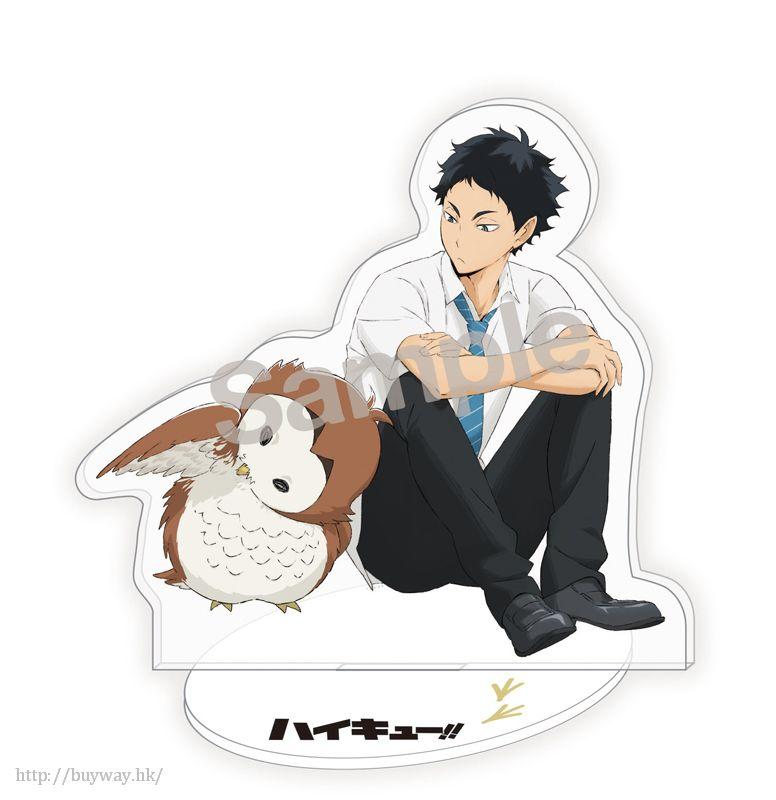 排球少年!! 「赤葦京治」恤衫 Ver. 全身亞克力企牌 Whole Body Acrylic Stand Keiji Akaashi【Haikyu!!】
