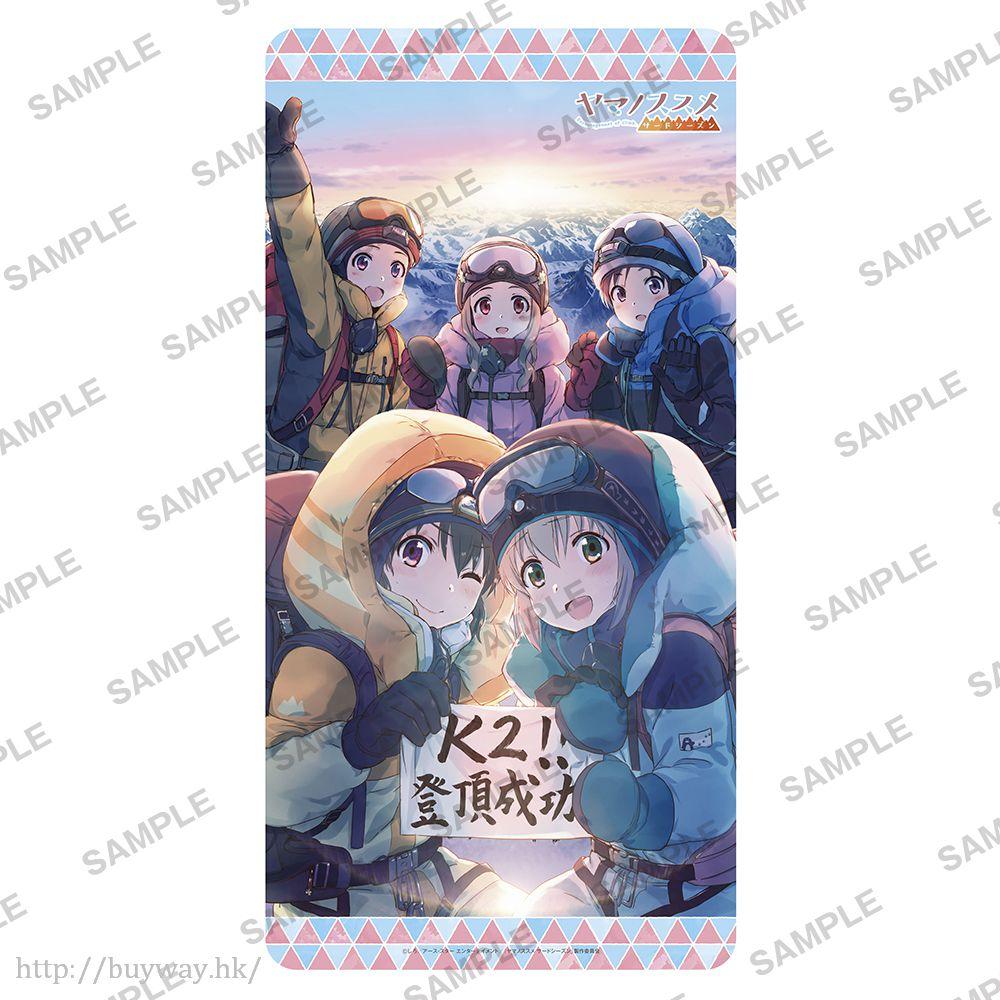前進吧!登山少女 K2登頂!通用遊戲墊 Rubber Play Mat Collection K2 Tocyo! Ver.【Yama no Susume】