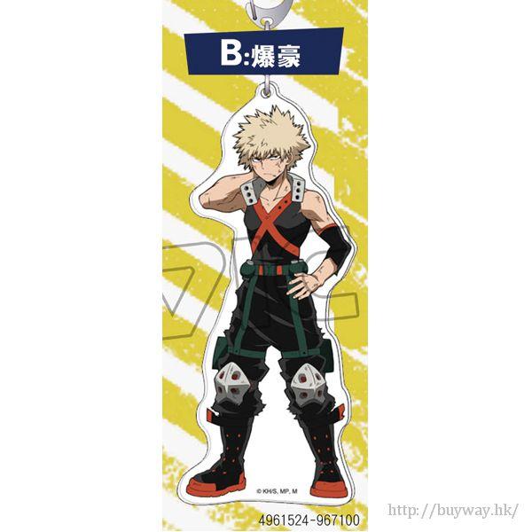 我的英雄學院 「爆豪勝己」亞克力全身匙扣 Acrylic Key Chain Bakugo Katsuki【My Hero Academia】