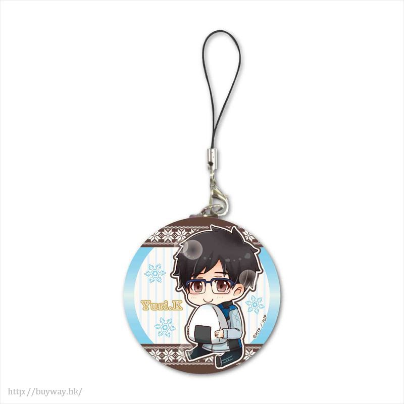 勇利!!! on ICE 「勝生勇利」最愛飯團 掛飾 GyuGyutto Tinplate Strap Mogumogu Ver. Katsuki Yuri【Yuri on Ice】
