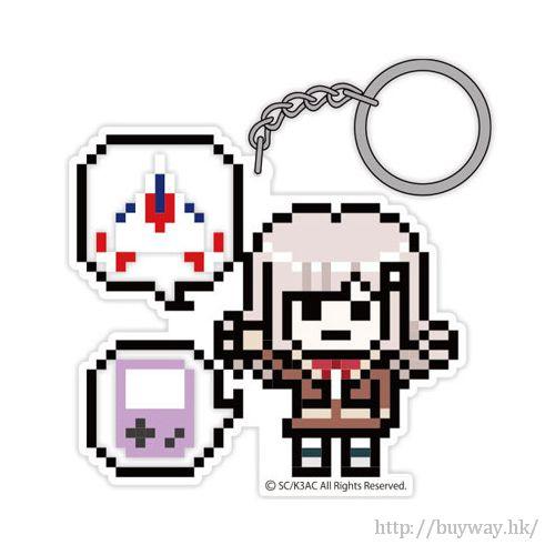 槍彈辯駁 「七海千秋」像素風格 亞克力 匙扣 Acrylic Key Chain Dot Chiaki Nanami【Danganronpa】