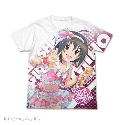 """偶像大師 灰姑娘女孩 (加大)「小日向美穂」白色 T-Shirt Hanikami Otome """"Miho Kohinata"""" Full Graphic T-Shirt / WHITE - XL【The Idolm@ster Cinderella Girls】"""
